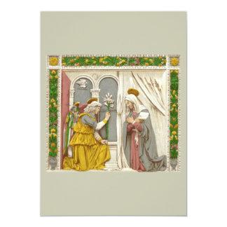 Angel Gabriel The Annunciation To Mary 13 Cm X 18 Cm Invitation Card