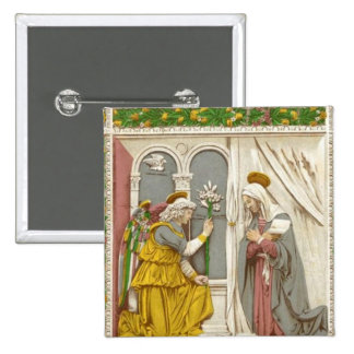 Angel Gabriel The Annunciation To Mary Buttons