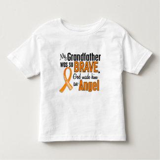 Angel Grandfather Leukemia Shirt