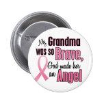 Angel GRANDMA Breast Cancer T-Shirts & Apparel Badge