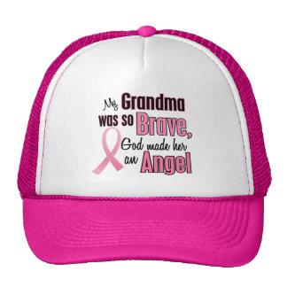 Angel GRANDMA Breast Cancer T-Shirts & Apparel Cap
