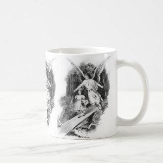 Angel Guarding A Girl Child Coffee Mug