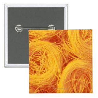 Angel hair pasta 15 cm square badge