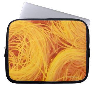 Angel hair pasta computer sleeves
