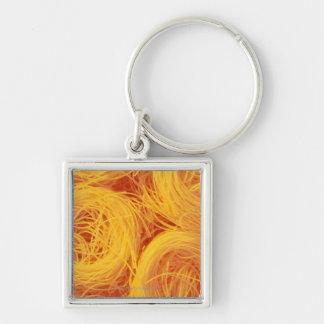 Angel hair pasta key ring