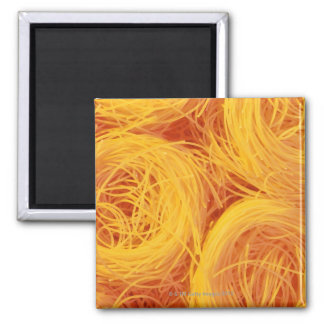 Angel hair pasta square magnet