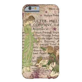 Angel handing paint brushes to Dryad artist Barely There iPhone 6 Case