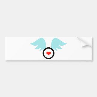Angel Heart Bumper Sticker
