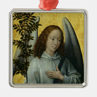 Angel Holding an Olive Branch Christmas Ornament