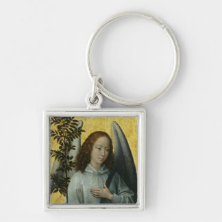 Angel Holding an Olive Branch Key Chain