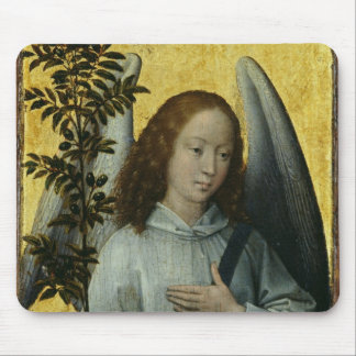 Angel Holding an Olive Branch Mouse Mat