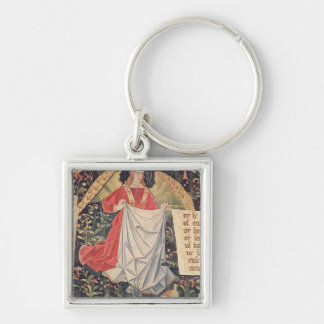 Angel holding the shroud key ring