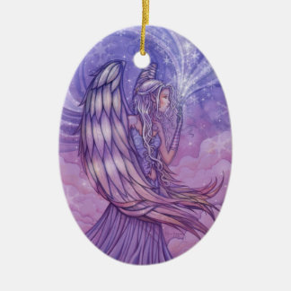 Angel Holiday Ornament by Molly Harrison