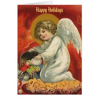 Angel Holidays Card