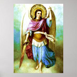 Angel Holy Archangel Saint Michael Poster