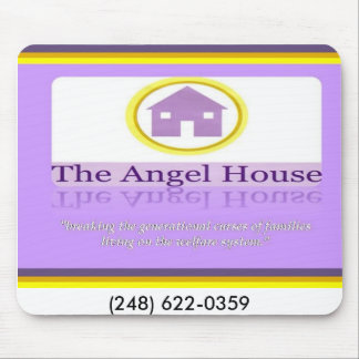 Angel House facing, (248) 622-0359 Mouse Mat
