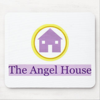angel house logo mouse pad