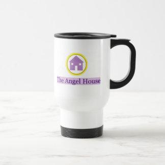 angel house logo travel mug