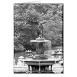 Angel in Central Park Greeting Card