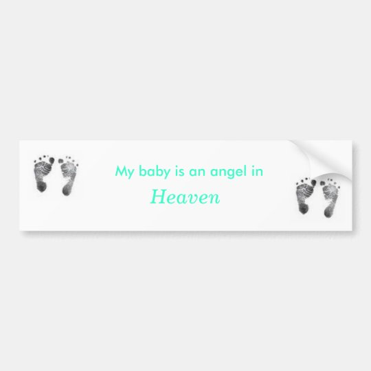 Angel in Heaven Bumper Sticker