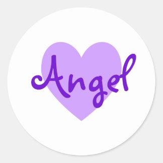 Angel in Purple Stickers