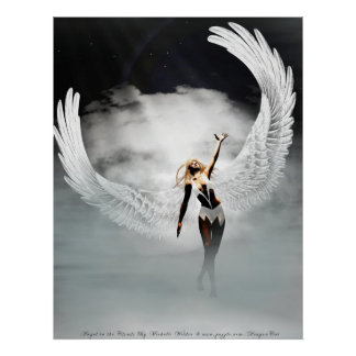 Angel In the Clouds By Michelle Wilder Print