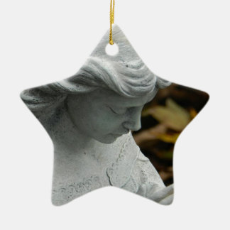 Angel in the Garden Christmas Ornament
