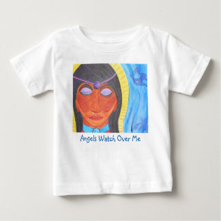 Angel in Watercolor Baby T-Shirt