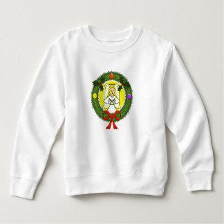 Angel in Wreath Toddler Sweatshirt