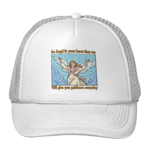 ANGEL IN YOUR HEART TRUCKER HAT