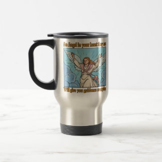 ANGEL IN YOUR HEART STAINLESS STEEL TRAVEL MUG