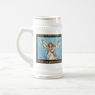 ANGEL IN YOUR HEART BEER STEINS