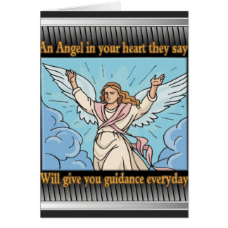 ANGEL IN YOUR HEART NOTE CARD
