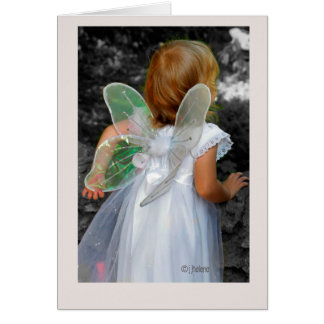 """Angel"" jjhelene original design - Greeting Card"
