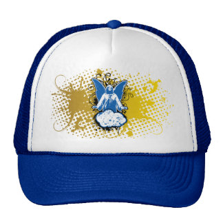 Angel landing solid, blue by christianstores. cap