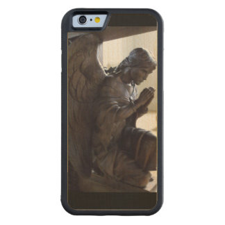 Angel Lansallos Church Cornwall England Carved Maple iPhone 6 Bumper Case