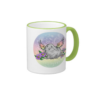 Angel Lop Bunny Coffee Mugs