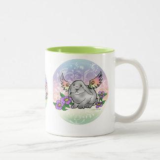 Angel Lop Bunny Two-Tone Mug