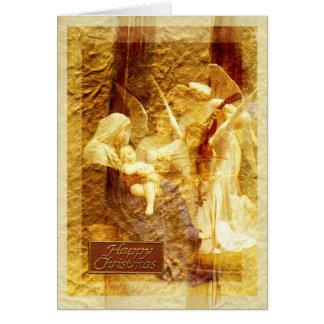 Angel Love Christmas Greeting Cards