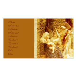 Angel Love Christmas Pack Of Standard Business Cards