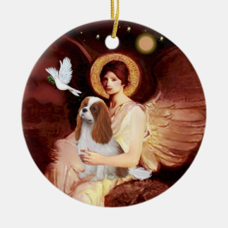 Angel & Mandolin - Blenheim Cavalier #2 Christmas Ornament