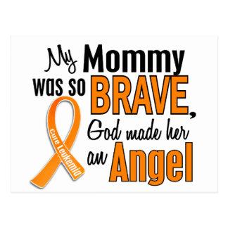 Angel Mommy Leukemia Postcard