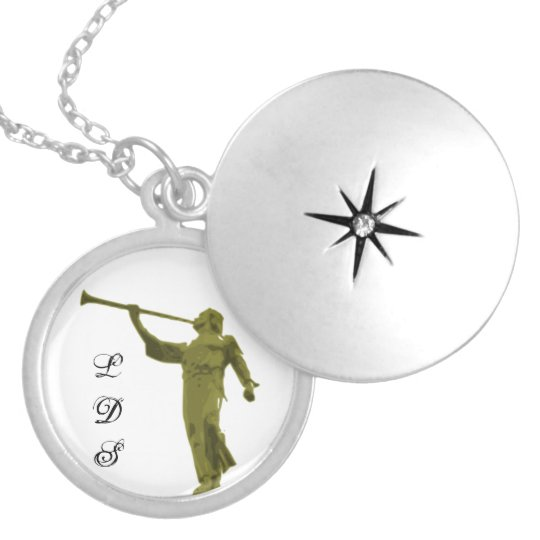 ANGEL MORONI LOCKET NECKLACE