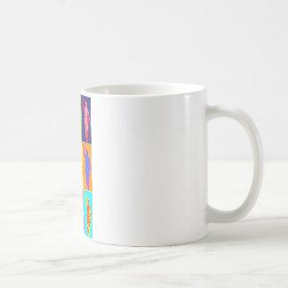 Angel Moroni Pop Art Classic White Coffee Mug