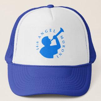 Angel Moroni Trucker Hat Blue