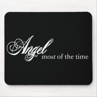 Angel Most of the Time Mouse Mat