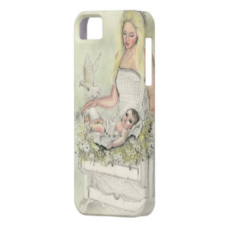 Angel mother baby iphonecase iPhone 5 covers