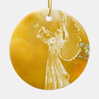 Angel Music Christmas Ornament