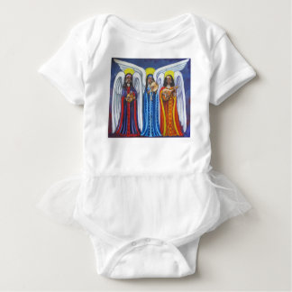 Angel Music Trio Baby Bodysuit