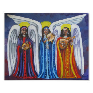 Angel Music Trio Poster